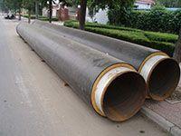钢型保温管道